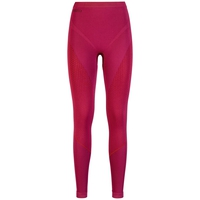 EVOLUTION WARM baselayer pants, sangria - zinfandel, large