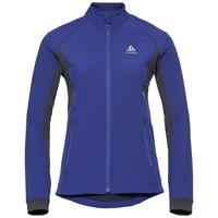 Women's AEOLUS Jacket, clematis blue - odyssey gray, large