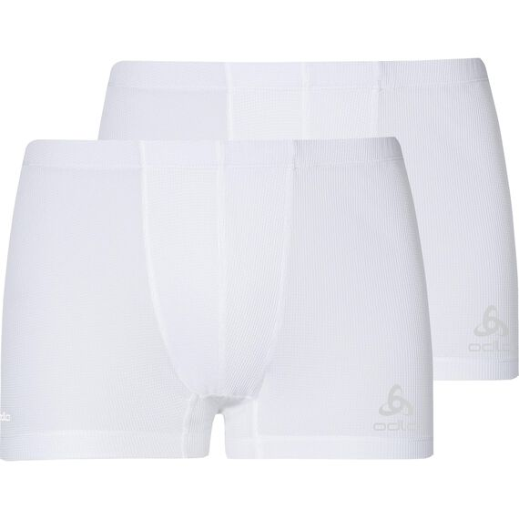 CUBIC Boxer 2 pack men, white - snow white, large