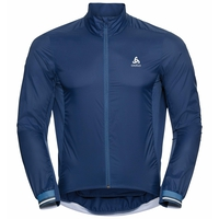 Herren DUAL DRY Radjacke, estate blue, large