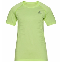 Women's SEAMLESS ELEMENT T-Shirt, tomatillo melange, large