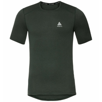 Men's ACTIVE THERMIC Base Layer T-Shirt, climbing ivy melange, large