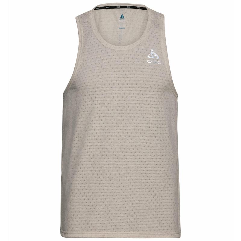 MILLENNIUM-hemd voor heren, silver cloud melange, large
