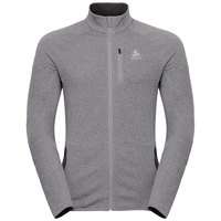 Midlayer full zip CARVE Warm, grey melange, large