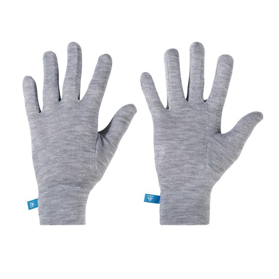 Gloves ORIGINALS Warm Kids, grey melange, large