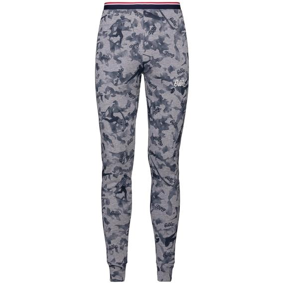Men's ACTIVE WARM ORIGINALS Base Layer Pants, grey melange - AOP FW19, large