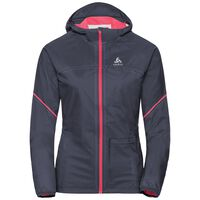 Jacket ZEROWEIGHT RAIN Warm, odyssey gray - diva pink, large