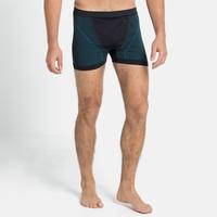 Men's PERFORMANCE WINDSHIELD XC LIGHT Sports-Underwear Boxers, black - lake blue, large