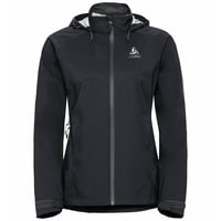 Damen WATERTON STRETCH Hardshell-Jacke, black - odlo graphite grey, large