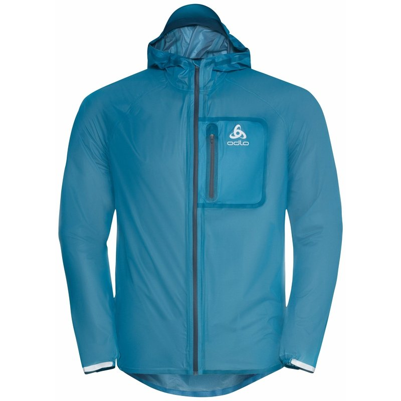 Giacca impermeabile Zeroweight Dual Dry, stunning blue - deep dive, large