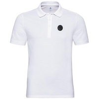 Polo manches courtes ROAR, white, large