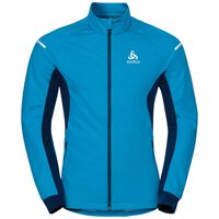AEOLUS Warm Jacke, blue jewel - poseidon, large