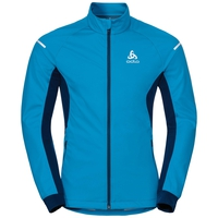 Jacket AEOLUS Warm, blue jewel - poseidon, large