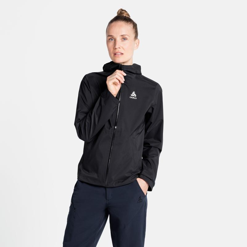 Damen AEGIS 2.5L WATERPROOF Hardshell Jacke, black, large
