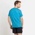 T-shirt ESSENTIAL CHILL-TEC da uomo, horizon blue, large