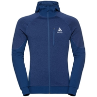 Men's MILLENNIUM YAKWARM Midlayer Hoody, estate blue, large