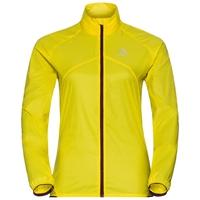 LTTL running Jacket women, blazing yellow, large