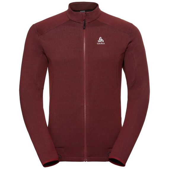 Midlayer full zip SIERRA ZIP IN, syrah, large