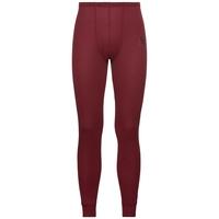 Men's ACTIVE WARM Base Layer Pants, syrah, large
