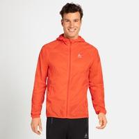 Men's WISP WINDPROOF Jacket, mandarin red, large