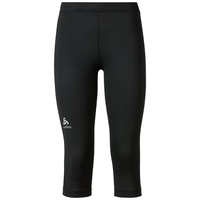 SLIQ 3/4 running tights, black, large