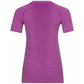 Damen SEAMLESS ELEMENT T-Shirt, hyacinth violet melange, large