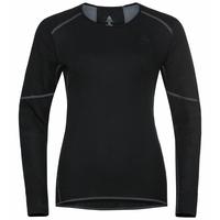 Women's ACTIVE X-WARM ECO Long-Sleeve Baselayer Top, black, large