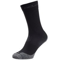 CERAMICOOL Hiking Crew Socks, black, large