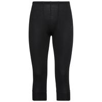 Men's ACTIVE WARM 3/4 Base Layer Pants, black, large