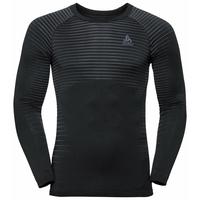Men's PERFORMANCE LIGHT Long-Sleeve Base Layer Top, black, large