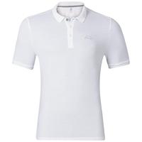 TRIM polo shirt, white, large