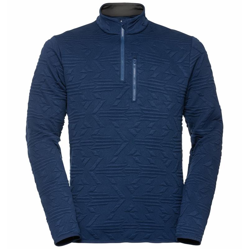 Men's CORVIGLIA KINSHIP Mid Layer, estate blue, large