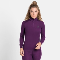 Top baselayer a collo alto con mezza zip Active Warm Eco da donna, charisma, large