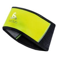 Headband windstopper® REFLECTIVE, safety yellow - black, large