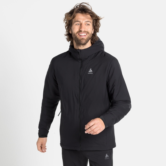 Gefütterte Herren FLI S-THERMIC Jacke, black, large