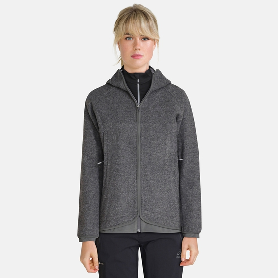 Jacket UNION, grey melange, large