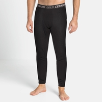 Men's ACTIVE THERMIC Baselayer Bottoms, black melange, large