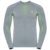 Men's PERFORMANCE WARM Long-Sleeve Baselayer Top, tradewinds - safety yellow (neon), large