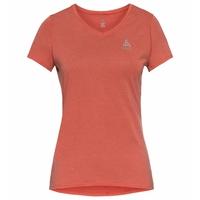 ETHEL-T-shirt voor dames, burnt sienna, large