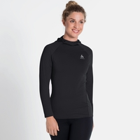 Women's ZEROWEIGHT CERAMIWARM Hoody, black, large