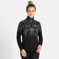 Women's ZEROWEIGHT PRO WARM REFLECT Jacket, black - reflective graphic FW20, large
