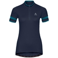 BREEZE cycling jersey women, diving navy, large