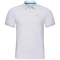 Polo s/s NIKKO F-DRY, white, large
