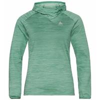 Sweat à capuche MILLENNIUM ELEMENT pour femme, malachite green melange, large