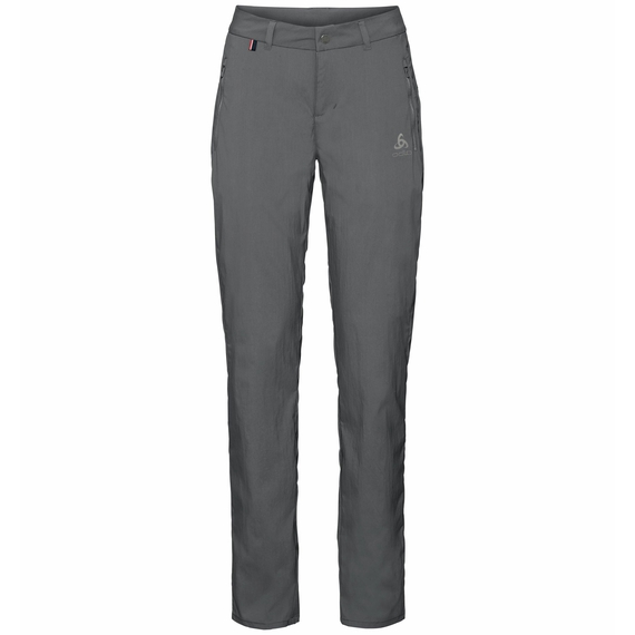 Women's CONVERSION Pants, odlo graphite grey, large