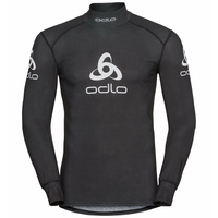 Shirt l/s turtle neck ORIGINALS LIGHT LOGO, black, large