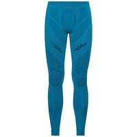 Naadloze onderkleding Tight PERFORMANCE MUSCLE FORCE RUNNING WARM, blue jewel - poseidon, large