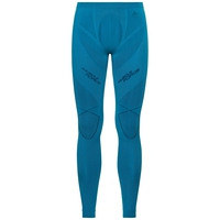 SUW Bottom PERFORMANCE MUSCLE FORCE Warm Laufhose, blue jewel - poseidon, large
