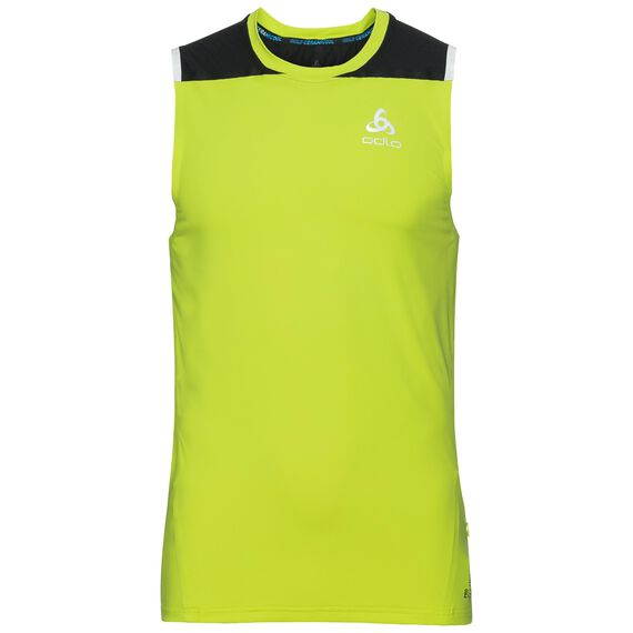 BL TOP Crew neck Tank ZEROWEIGHT Ceramicool, acid lime - black, large