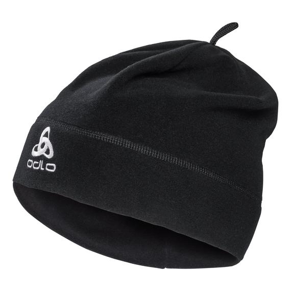 Hat MICROFLEECE Warm, black, large